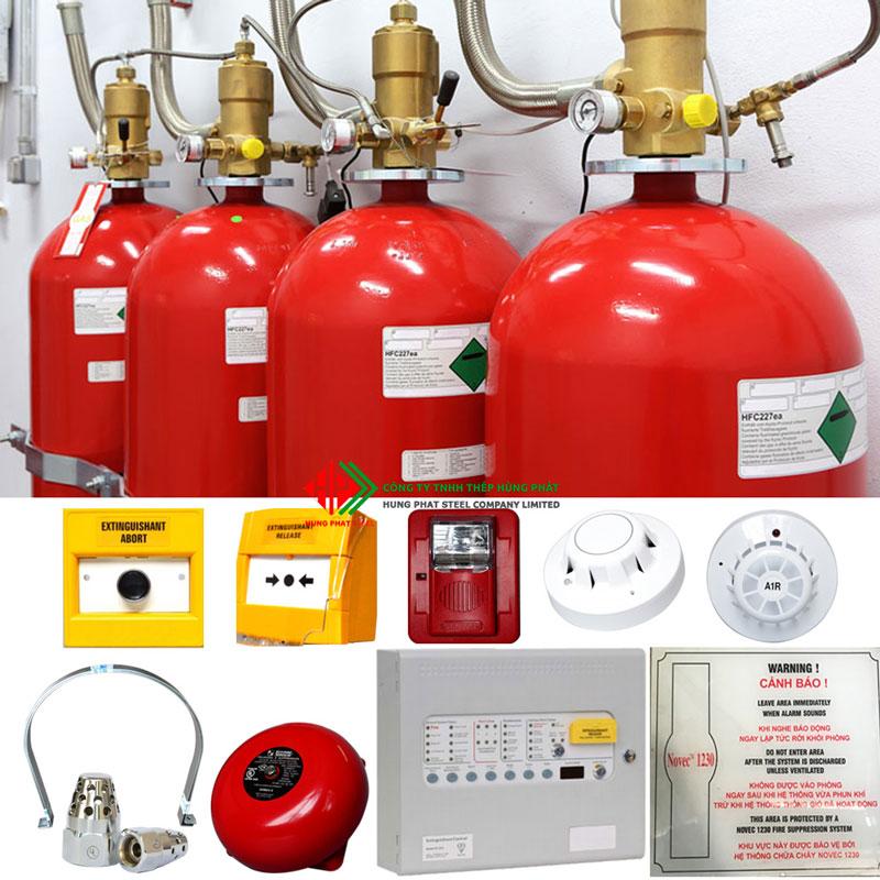 Hệ thống chữa cháy Novec 1230, Thiết bị báo cháy, Thiết bị chữa cháy, máy bơm chữa cháy, hệ thống chữa cháy ,