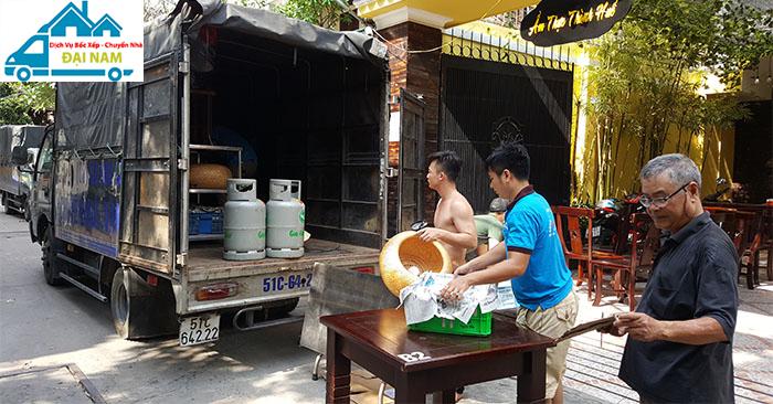 Dịch vụ chuyển nhà quận Bình Tân trọn gói giá rẻ uy tín