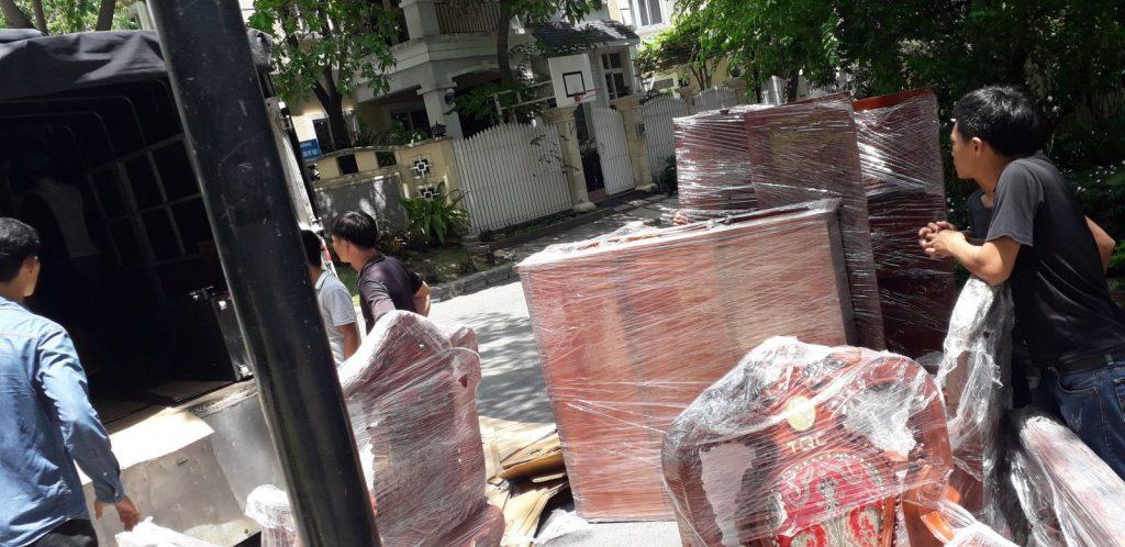 Dịch vụ chuyển nhà quận Tân Bình trọn gói giá rẻ uy tín
