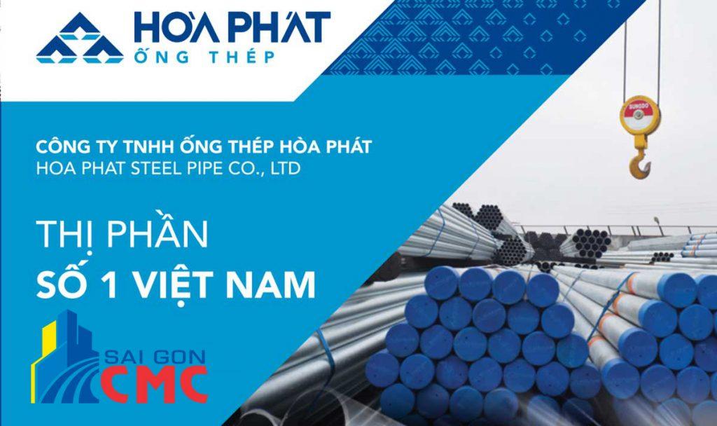 Bảng báo giá thép Hòa Phát mới nhất hôm nay tại Tphcm