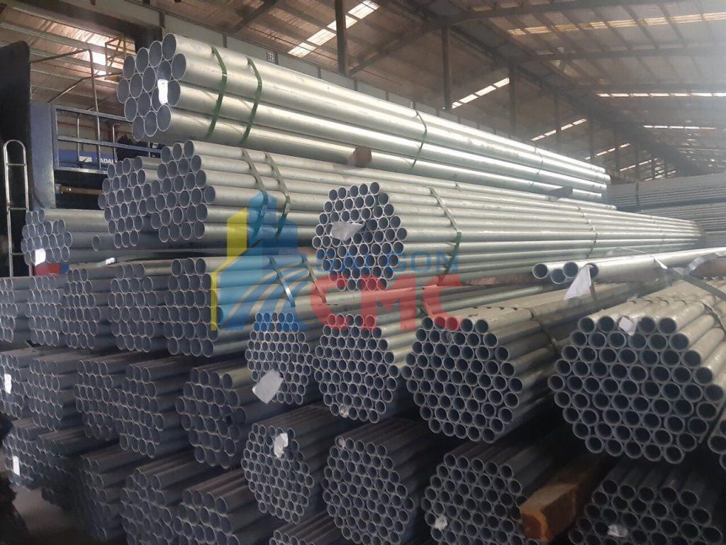 Bảng báo giá thép ống mạ kẽm mới nhất hôm nay tại Tphcm